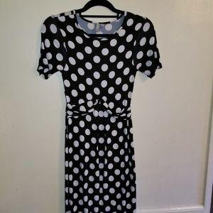 ASOS Polka Dot body con dress